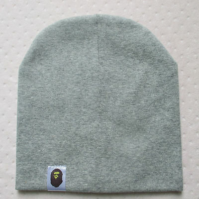 Cotton Beanie Hat New Born Child Baby Boy/Girl Soft Toddler Cap Grey