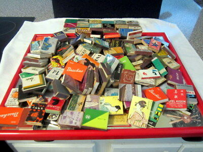 Huge Lot (over 150) 1940's Match Box Matches Girlie~Bar~Hotel~Advertising~Japan~
