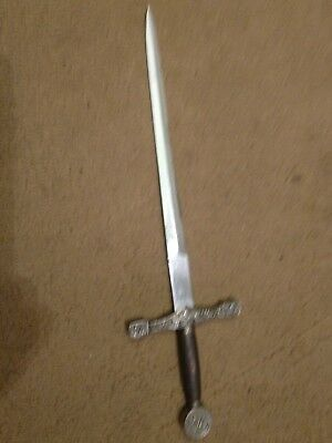 Vintage Miniature Sword Letter Opener - King Arthur's Excalibur Model
