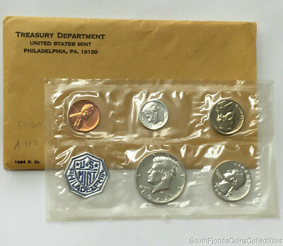 1964 United States Silver Proof Set Original Packaging