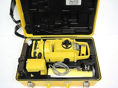 TopCon GTS-2B Geodetic TOTAL STATION +Case+Batt+AC+Manual SET Theodolite Survey
