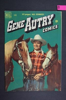 GENE AUTRY #40 Vintage Western Dell Comic Book 1950 A82