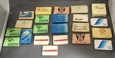 Lot Of 22 Unused Vintage Hotel Soap TWA & Palmolive