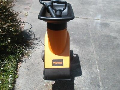 Garden Chipper / Shredder   Warrior Heavy Duty Wash2200