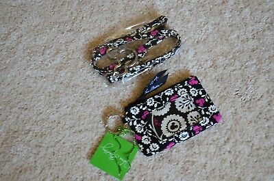 Vera Bradley Mickey Mouse Meets Birdie Zip ID Case & Lanyard New With Tag