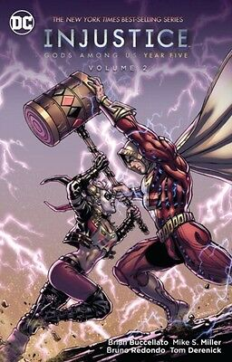 INJUSTICE GODS AMONG US YEAR FIVE VOL 2, Buccellatto, Bruce, 9781...