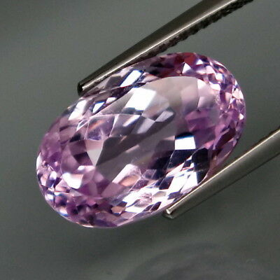 8.70Ct.Ravishing Color! Natural Brazillian Lavender Kunzite Full Sparkling!