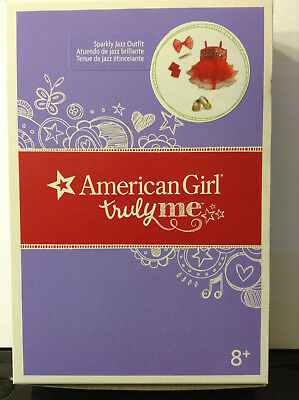 New~RED/GOLD JAZZ DANCE OUTFIT/SHOES/DRESS~American Girl Doll~GABRIELA~TRULY ME