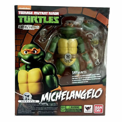Bandai Teenage Mutant Ninja Turtles TMNT Michelangelo SH Figuarts Action Figures