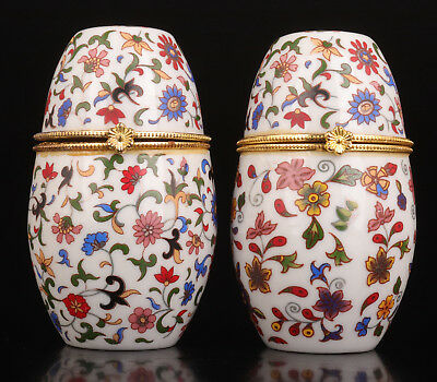 2  Porcelain Toothpick Box Exquisite Gift Great Value
