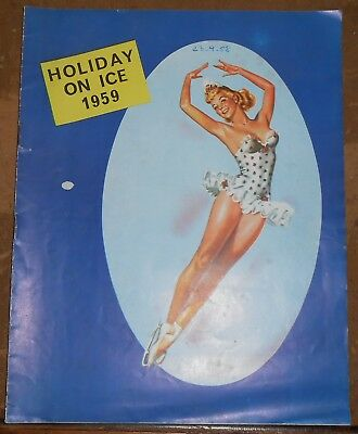 Programme Holiday on Ice 1959