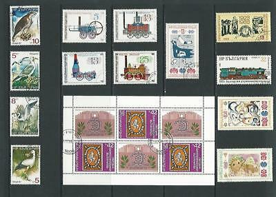y3334 Bulgaria / A Small Collection Early & Modern Used