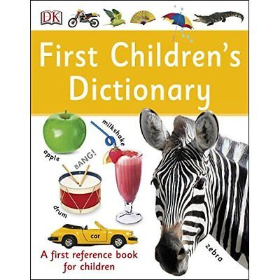 First Children's Dictionary (Dk Knowledge) - Paperback NEW DK (Author) 01/11/201