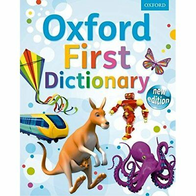 First Dictionary: Oxford First Dictionary 2011 - Hardcover NEW Oxford Dictiona 2