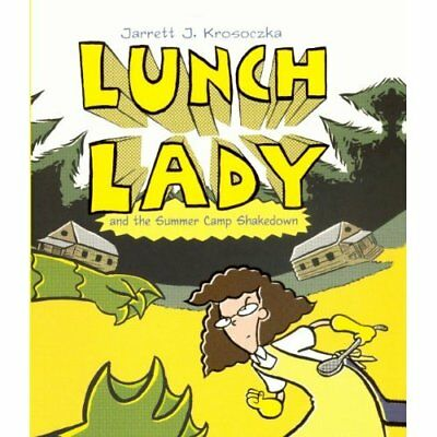 Lunch Lady and the Summer Camp Shakedown - Library Binding NEW Jarrett J. Kros 2