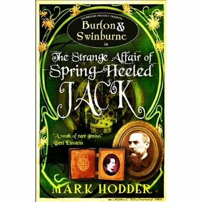 Burton and Swinburne in the Strange Affair of Spring He - Paperback NEW Hodder,