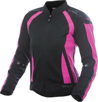 Fly Racing Womens Coolpro Jacket Pink/Black Large