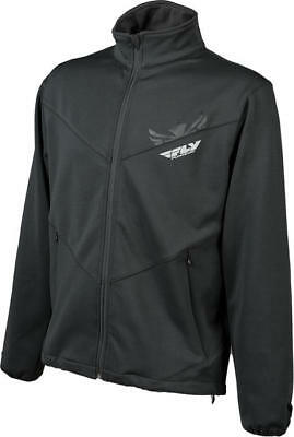 Fly Racing Mid Layer Top Black Small