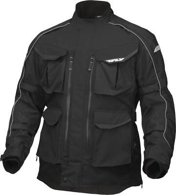 Fly Racing Terra Trek 4 Jacket Black X-Large