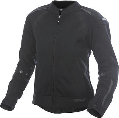 Fly Racing Womens Coolpro Jacket Black Medium