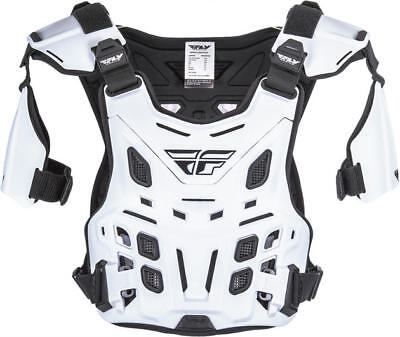 Fly Racing Revel Offroad Roost Guard White