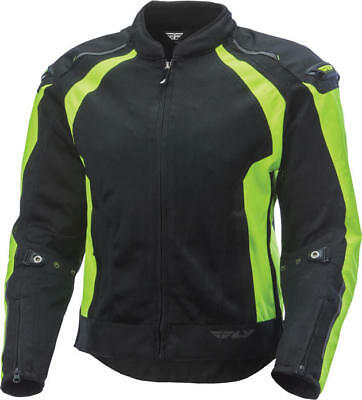 Fly Racing CoolPro Jacket Hi-Vis/Black Small