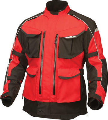 Fly Racing Terra Trek 4 Jacket Red/Black Small