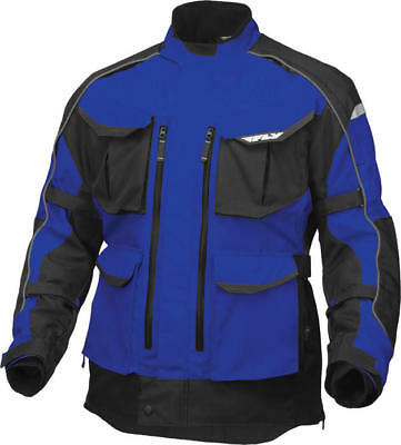 Fly Racing Terra Trek 4 Jacket Blue/Black Medium