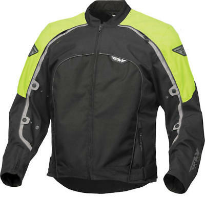 Fly Racing Butane 4 Jacket Hi-Vis/Black Medium