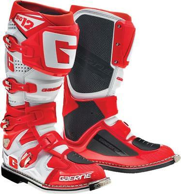Gaerne SG-12 Motocross Boots Red 14 US