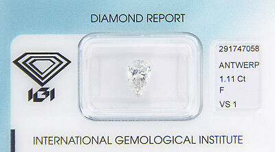 Diamant 1,11ct F VS 1