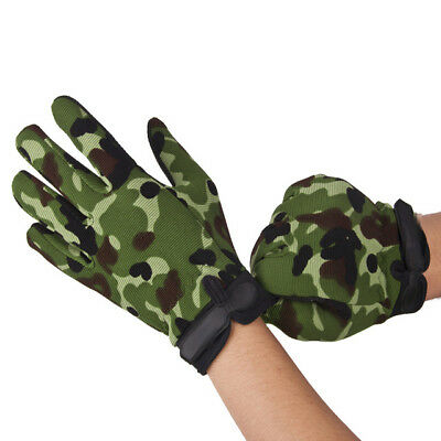 Trials mtb camo gloves large new in pack
