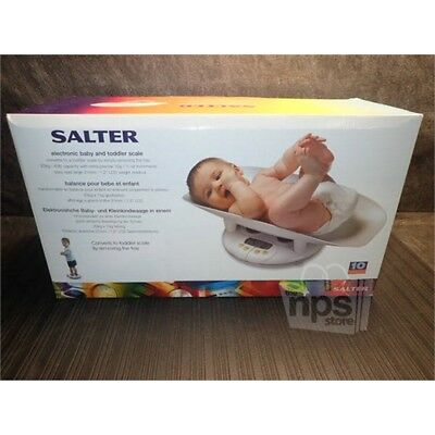 Salter Electronic Baby & Toddler Scale 44lbs Capacity New 914