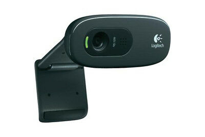 "Logitech C270 HD Webcam (720p) schwarz ""655913"""