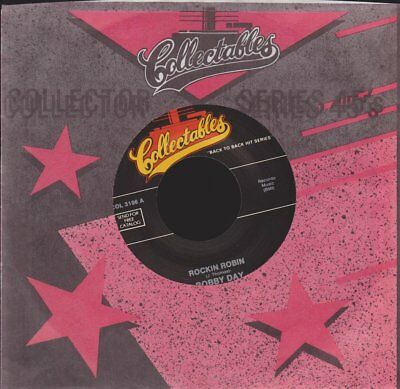 """Bobby Day Rockin Robin / Little Bitty Pretty One (Oldie) 7"""" Single Collectables"""