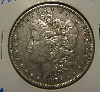 1878 7 Tail Feathers 2Nd Reverse Straight Feather Morgan Dollar