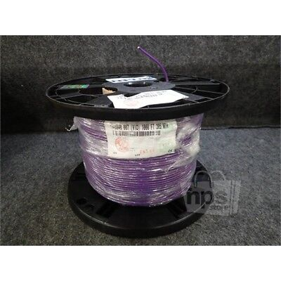 Belden YR46940 Coaxial Cable, 1000ft Spool, 23AWG, Purple