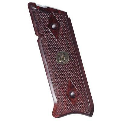 Lyman Renegade Wood Laminate Grip for Ruger Pistol, Checkered Rosewood #63180