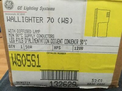 NEW! General Electric Wallighter 70 - WSO5S1