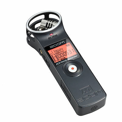 Zoom H1 Handy Recorder Digital Audio Portable Compact Hand Recorder w/ SD Card