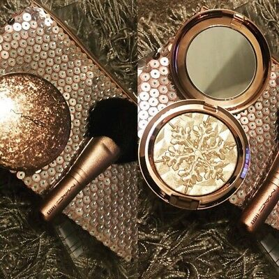 Mac - Snowball Gold Whisper Of Guilt Face Bag/Set Limited Edition 100% GENUINE!