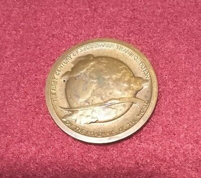 Vintage STUDEBAKER Commemorative COIN 100 Year Anniversary Bronze 1852 - 1952