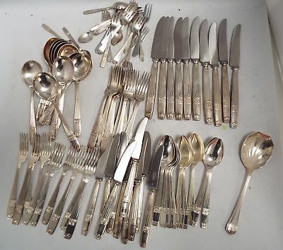 Vintage Mixed Sets of Stainless / Silver Plated ELKINGTON CUTLERY - W20