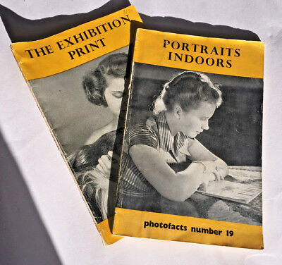Two volumes from Photofacts - No19 & 32 - by Fountain Press, 1950s