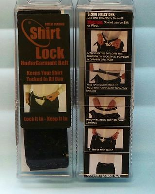 Police Uniformed Law Enforcement Military Shirt Lock Keeps Shirt Tucked In Lg