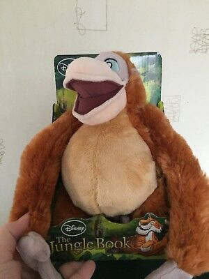 BNIB Cuddly Toy Disney Jungle Book King Louie 25cm