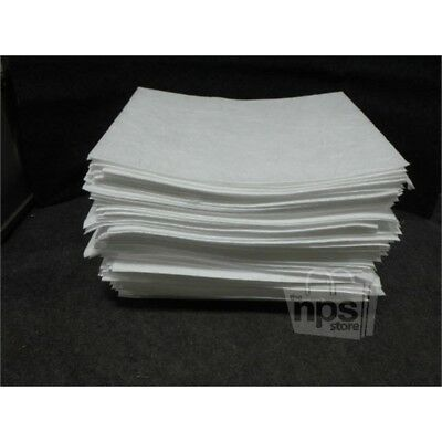 """100 OIL-DRI L90850G 1HEH7 Oil Only Heavy Weight Pads, 15"""" x 19"""", white"""