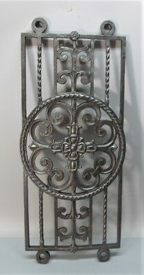 Antique Cast Iron Architectural Baluster by J.E.O. Pridmore  Chicago Theatre