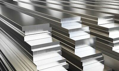 Aluminium Flat Bar Plate Strip Many sizes and lengths Aluminum Alloy Metal 2