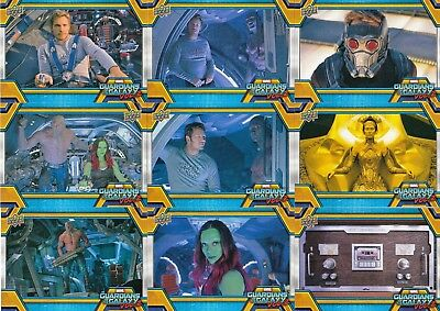 Guardians Of The Galaxy Vol. 2 Movie 2017 Upper Deck Base Card Set Of 90 Marvel
